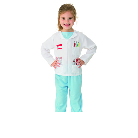 Doctor Costume - Ages 3-5
