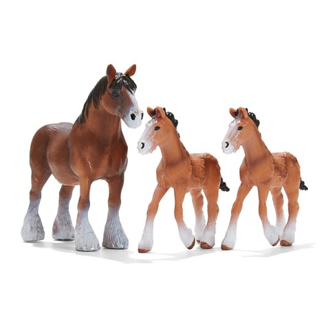 Horse Family - Pack of 3