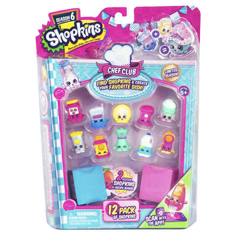 Shopkins Chef Club Characters - Pack of 12