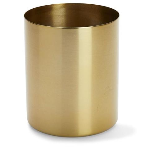 Brass Finish Metal Planter Kmart