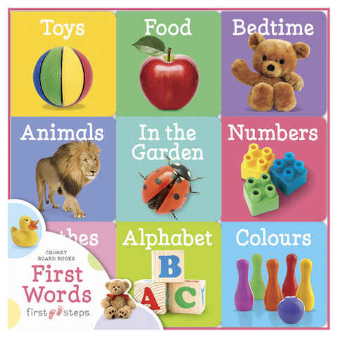 First Steps: First Words - Board Book
