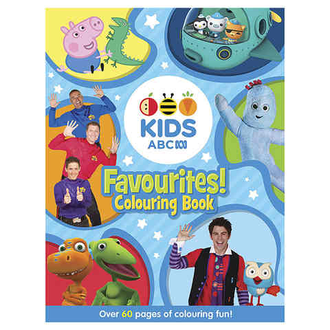 ABC Kids: Favourites! Colouring Book - Book