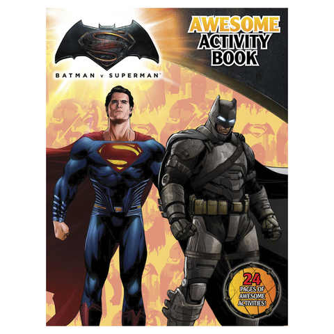 Batman V Superman Awesome Activity Book