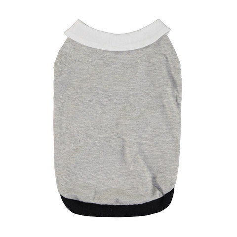 Pet T-shirt with Collar - Medium