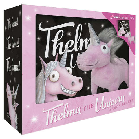 Thelma the Unicorn by Aaron Blabey - Book & Toy