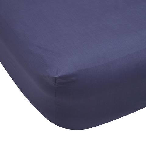Fitted Sheet - Queen Bed, Blue