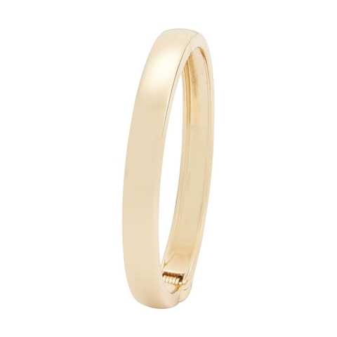 Hinge Bangle - Gold