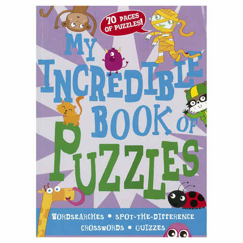 My Incredible Book Of Puzzles - Book