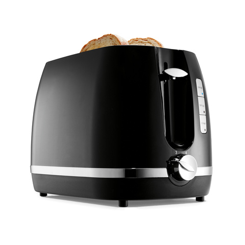 2 Slice Toaster - Black