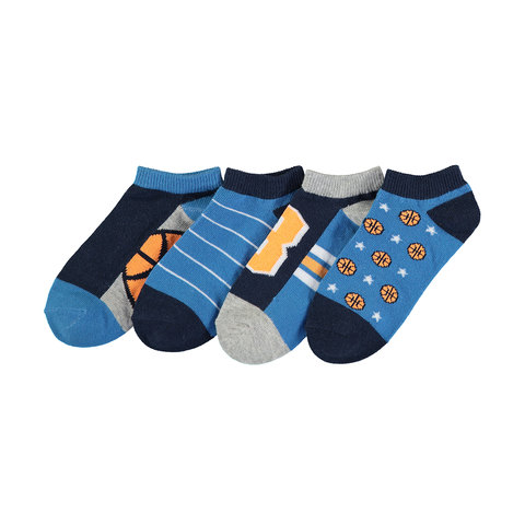 4 Pack Casual Low Cut Socks