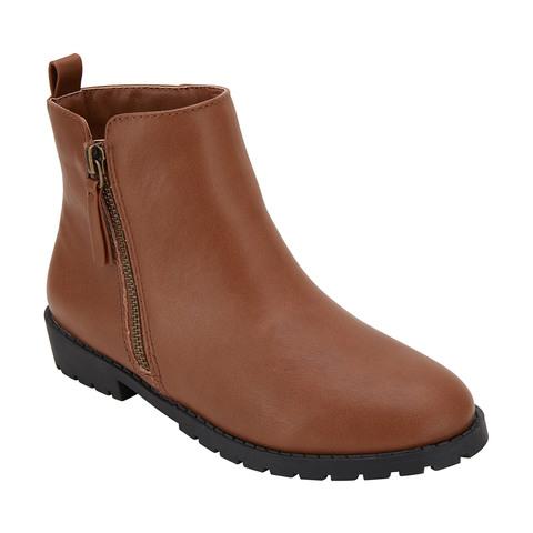 Senior Animal Print Zipper Boots | Kmart