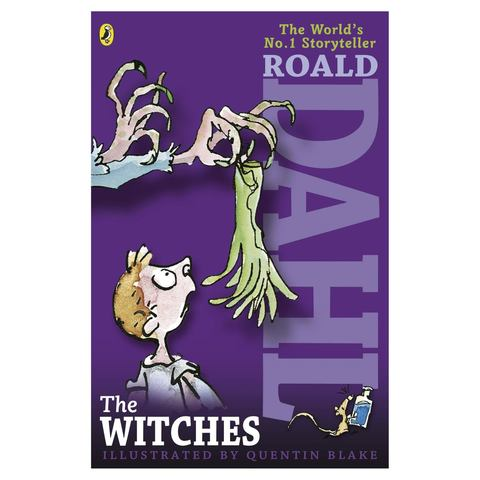 The Witches by Roald Dahl, Illustrated by Quentin Blake