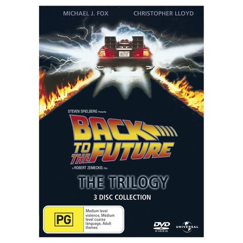 Back to the Future: The Trilogy - DVD
