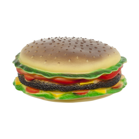 Squeaky Burger Toy