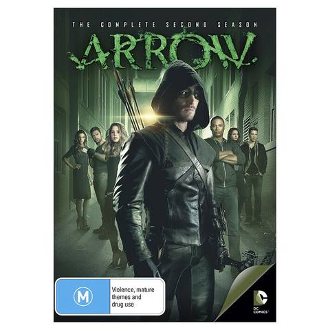Arrow: The Complete Second Season - DVD Box Set