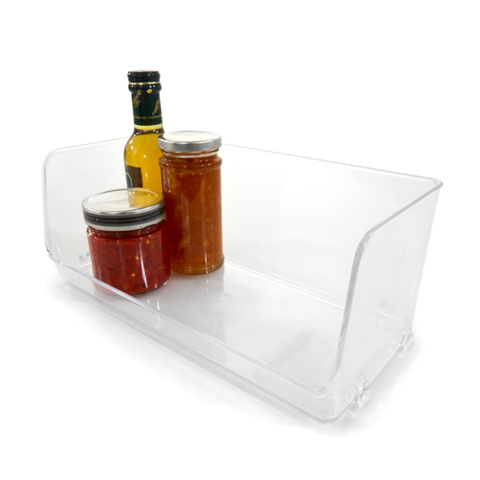 Stackable Pantry Tray - Large, Clear