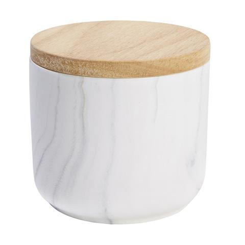 Kmart Marbled Patterned Canister