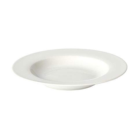 Rimmed Soup Plate - Super White