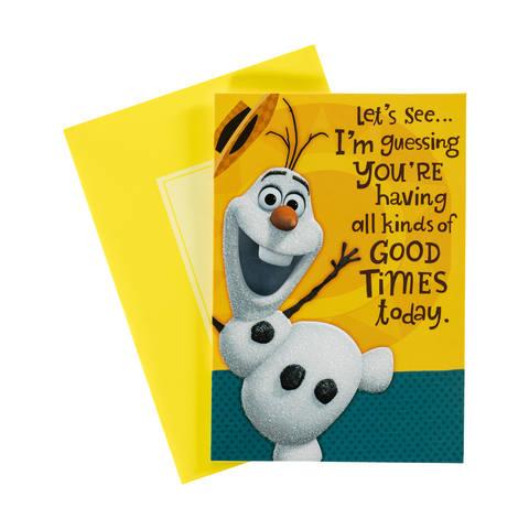Snowman birthday card kmart snowman birthday card bookmarktalkfo Images