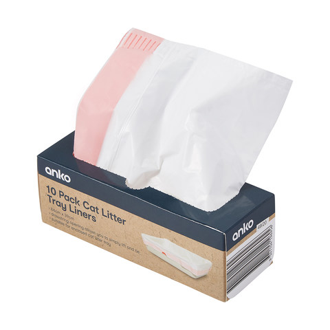 Litter Tray Liners - Pack of 10
