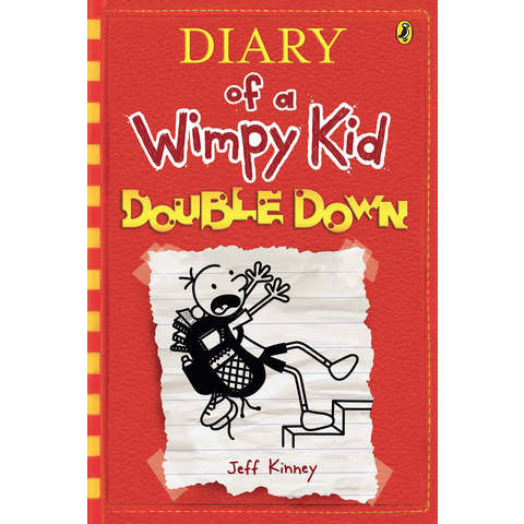 Double Down: Diary of a Wimpy Kid by Jeff Kinney - Book
