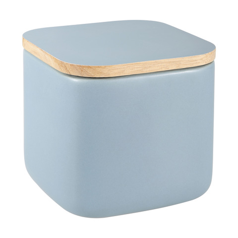 Square Canister - Blue