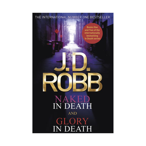 Naked In Death and Glory in Death by J.D Robb - Book