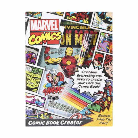 Marvel Comic Book Creator Kit