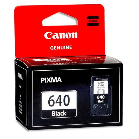 Canon PG640 Ink Cartridge - Black