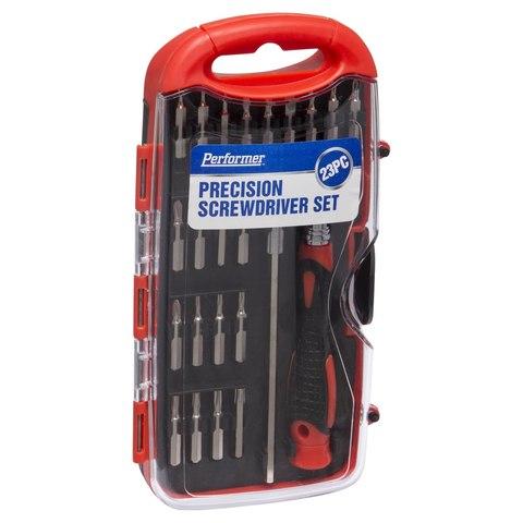 23 piece precision screwdriver set kmart. Black Bedroom Furniture Sets. Home Design Ideas