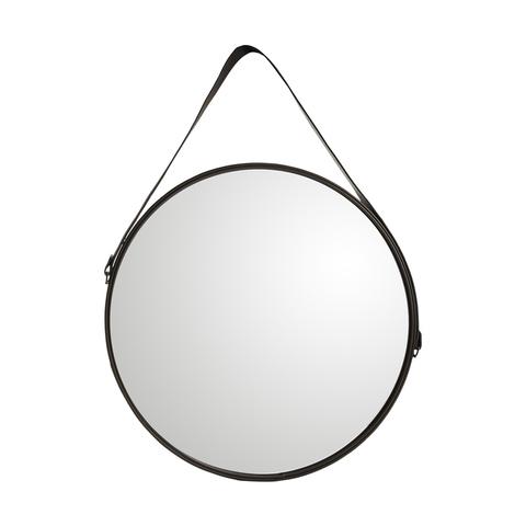 Round mirror kmart for Round black wall mirror