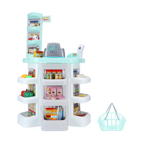 Kids Toy Supermarket Playset