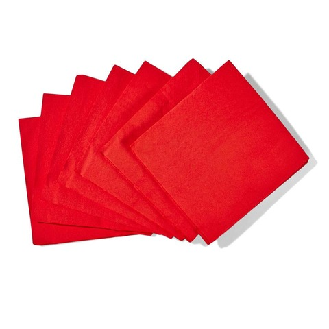 50 Pack Red Napkins