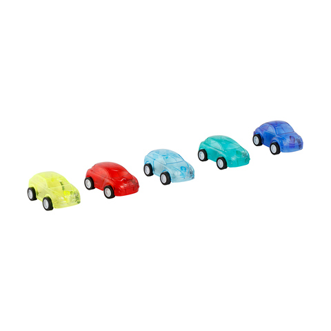 Friction Cars - Set of 5
