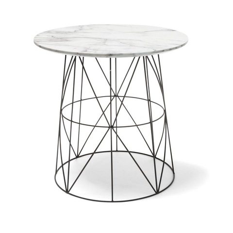 Marble Top Wire Table Kmart