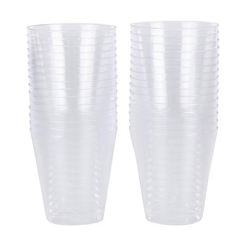 30 pack clear shot plastic glasses kmart. Black Bedroom Furniture Sets. Home Design Ideas