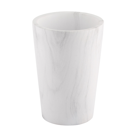 Marble Effect Cone Pot