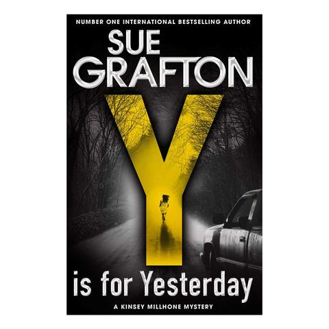 Y is for Yesterday by Sue Grafton - Book