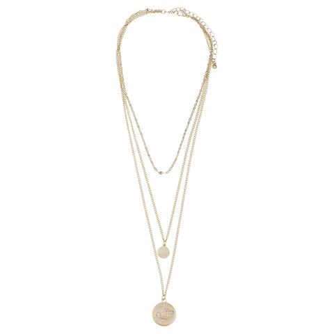 160e3ebefde4 Coin Layered Choker Necklace