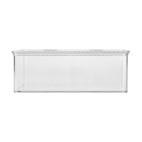 Clear Short Container With Lid