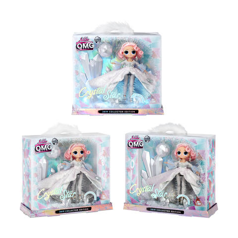 Lol Surprise Omg Winter Disco Crystal Star 2019 Collector Edition Fashion Doll Set