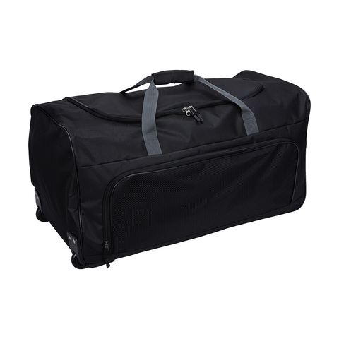 ce3412e84 Large Duffle Bag with Wheels - Black | Kmart