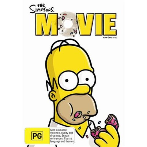 The Simpsons Movie - DVD