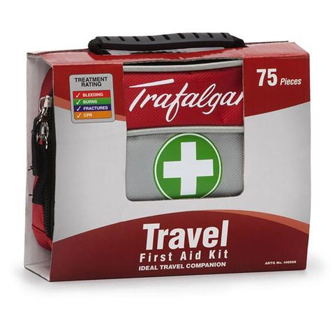 Trafalgar Travel First Aid Kit 75 Piece Kmart