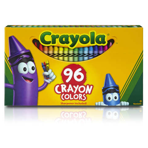 Crayola 96 Pack Crayon Colours