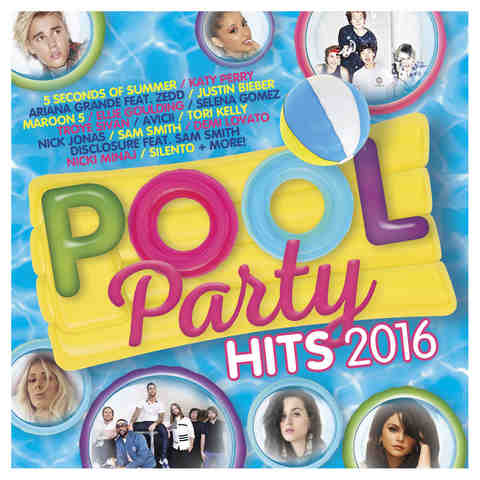 Pool Party Hits 2016 - CD