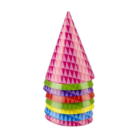 Party Hats - Pack of 8