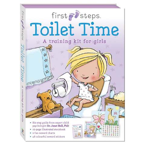 First Steps: Toilet Time for Girls - Book