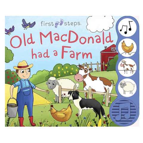 First Steps: Old MacDonal Had A Farm - Book