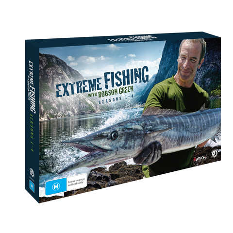 Extreme Fishing with Robson Green: Seasons 1-4 - DVD